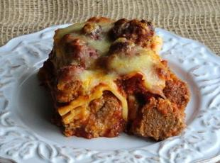 Meat Ball Lasagna Recipe