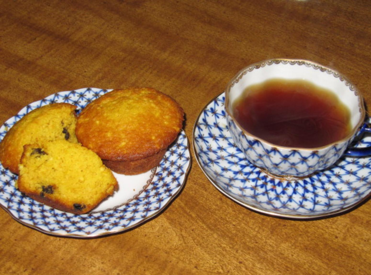 Orange Raisin Muffins Recipe