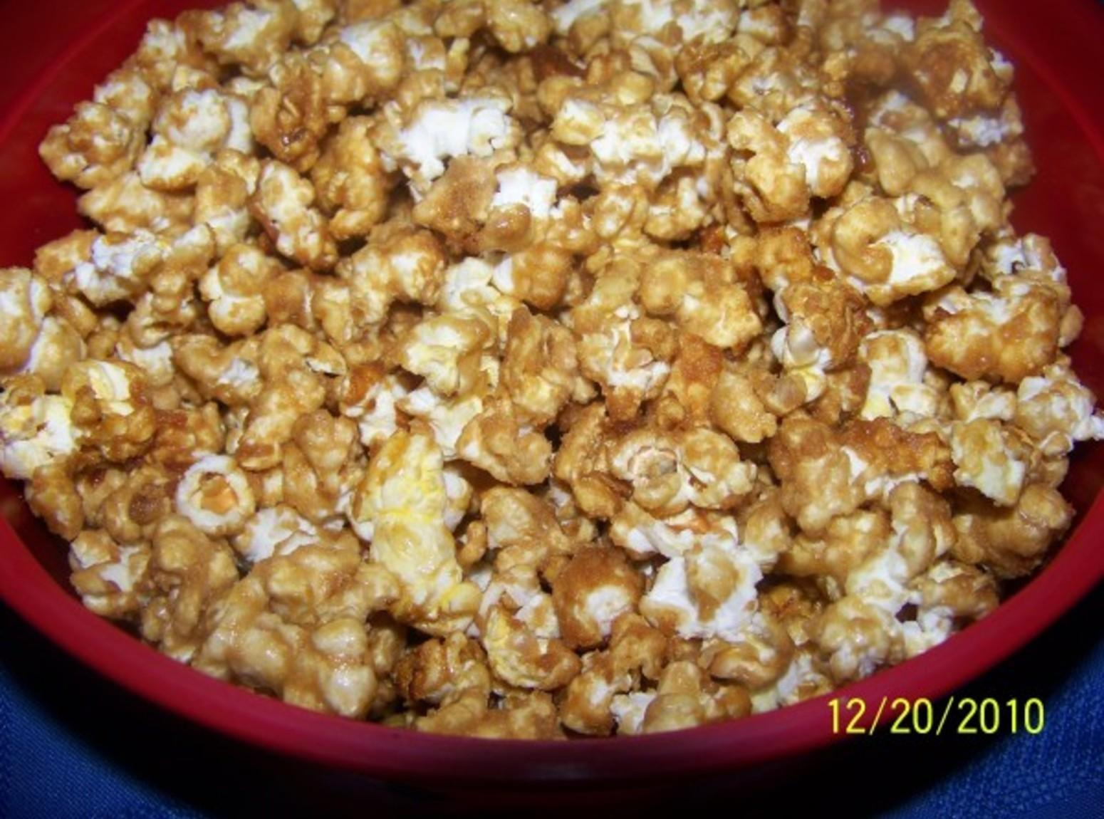 Crunchy Caramel Popcorn Recipe