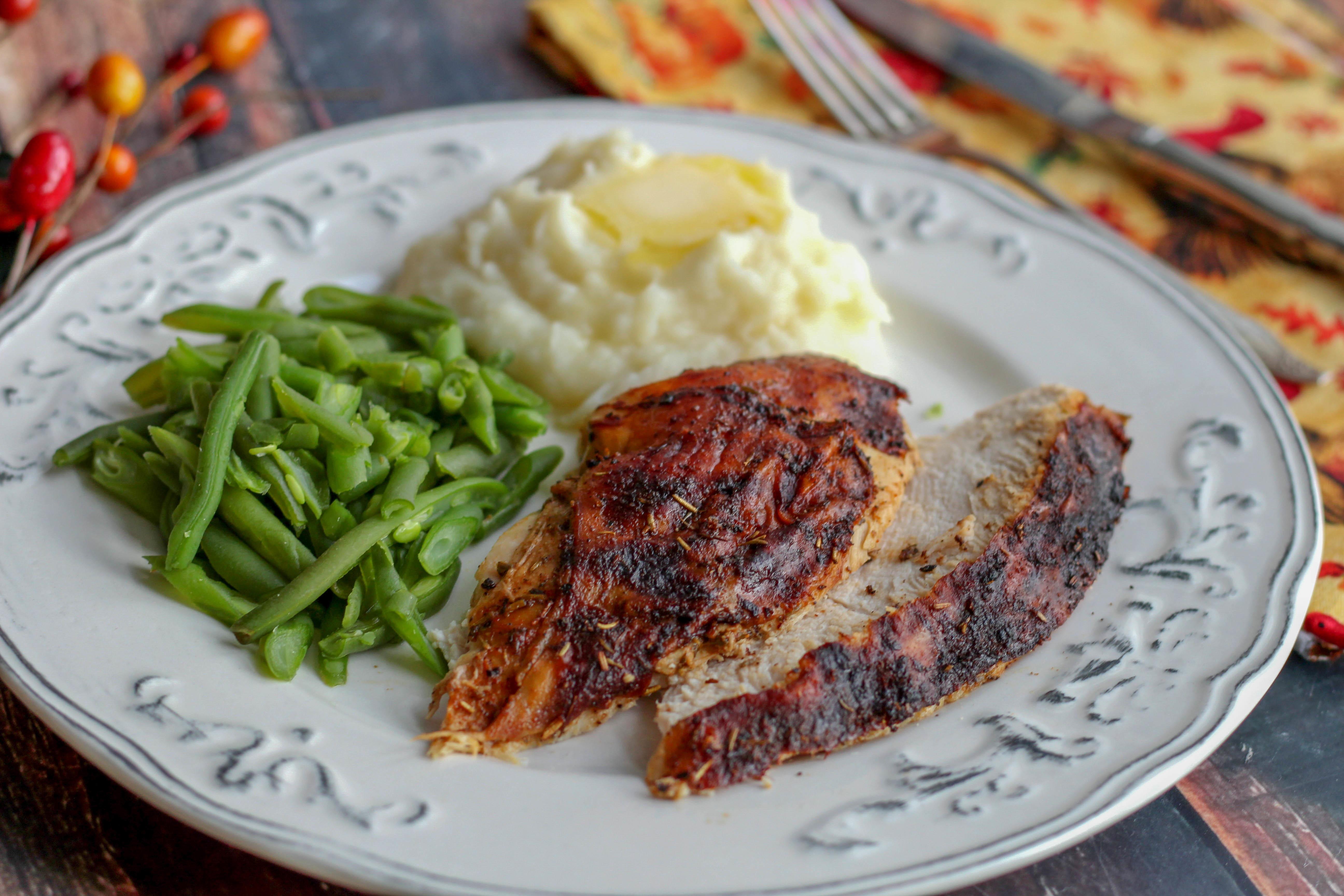 Herb Rotisserie Turkey Breast Recipe