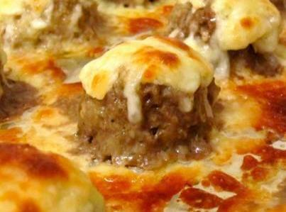 Ooey Gooey Cheesy Meatballs Recipe