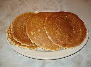 Pancakes by Grandpa V.