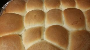 Bread Machine Soft and Buttery Yeast Rolls.