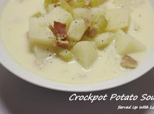 Crock Pot Potato Soup