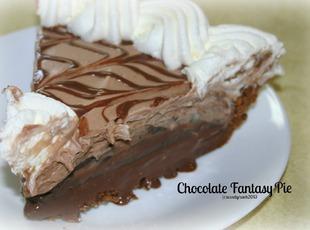 Chocolate Fantasy Pie Recipe