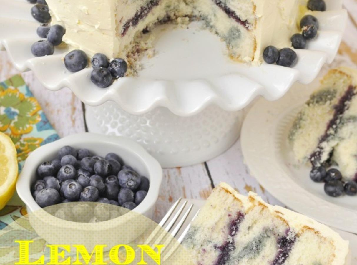 Blue Marble Cake Recipe Zest