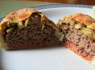Beef Patties En Croute Recipe