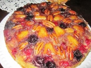 Cranberry Pineapple Upside Down Cake Recipe