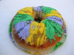Mardi Gras King Cake Recipe