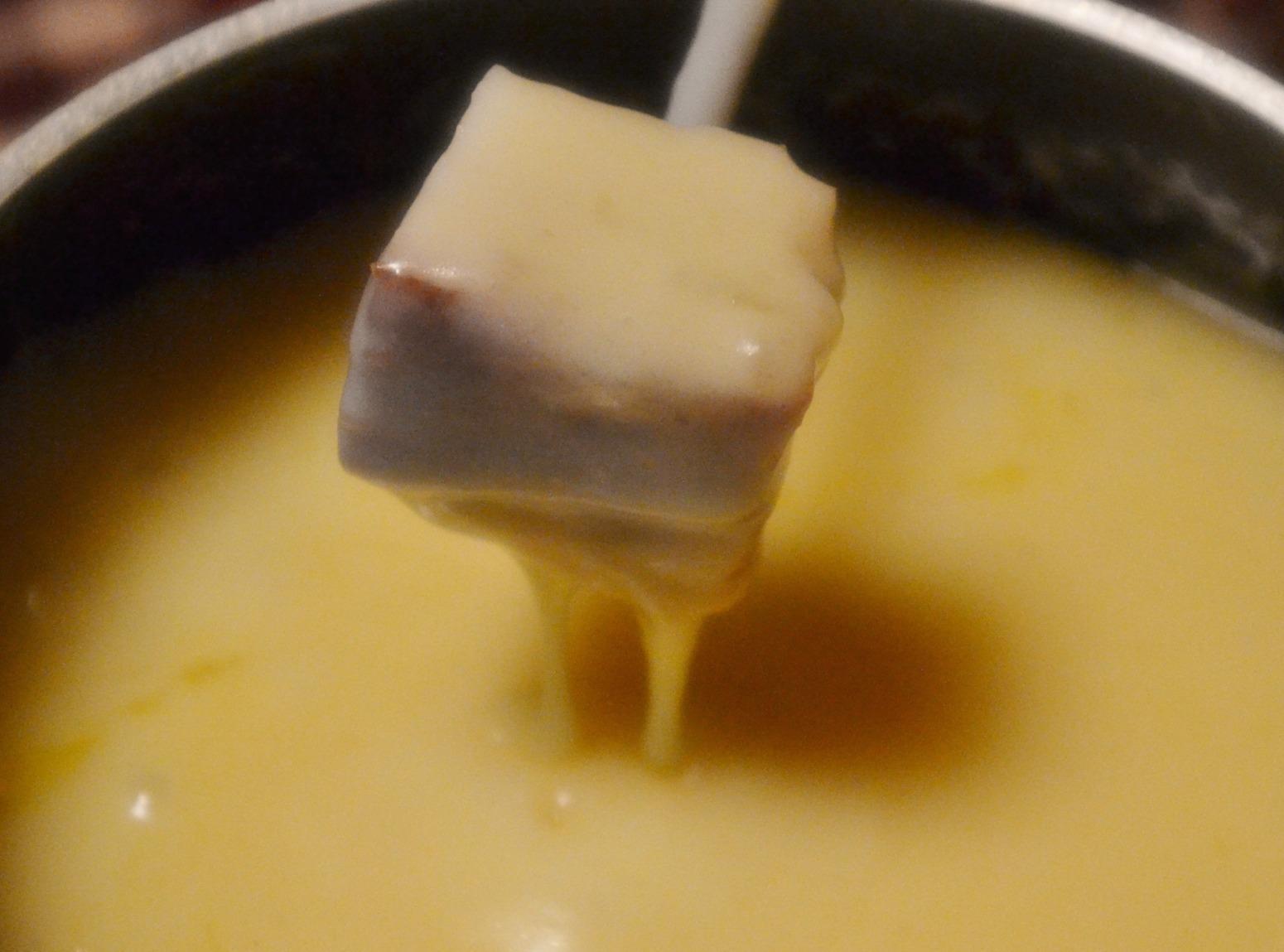 Authentic Swiss Fondue Recipe | Just A Pinch Recipes