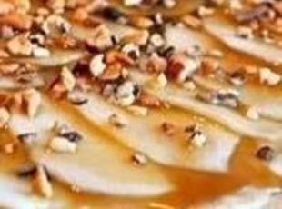 Cream Cheese Caramel Apple Platter