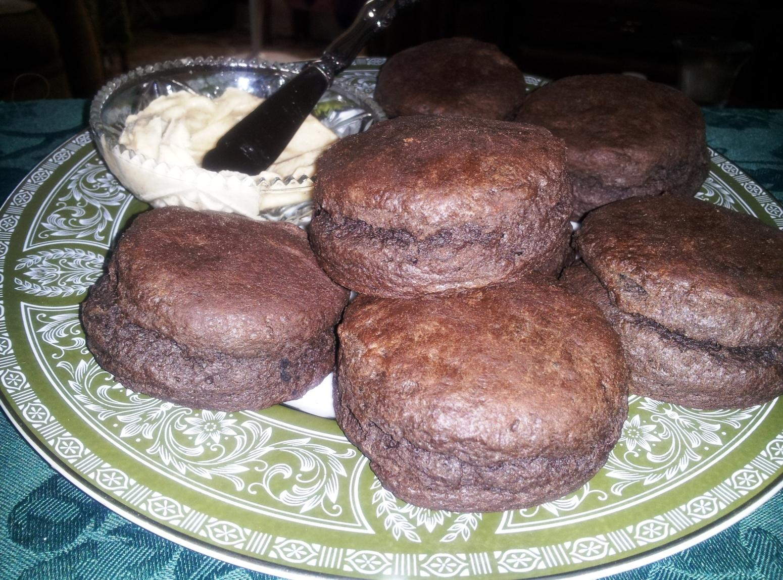 Chocolate Biscuits w/Brown Sugar Cinnamon Butter Recipe