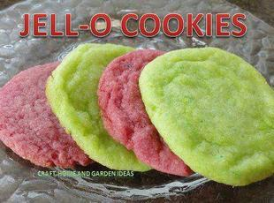 Jello -O- Cookies Recipe