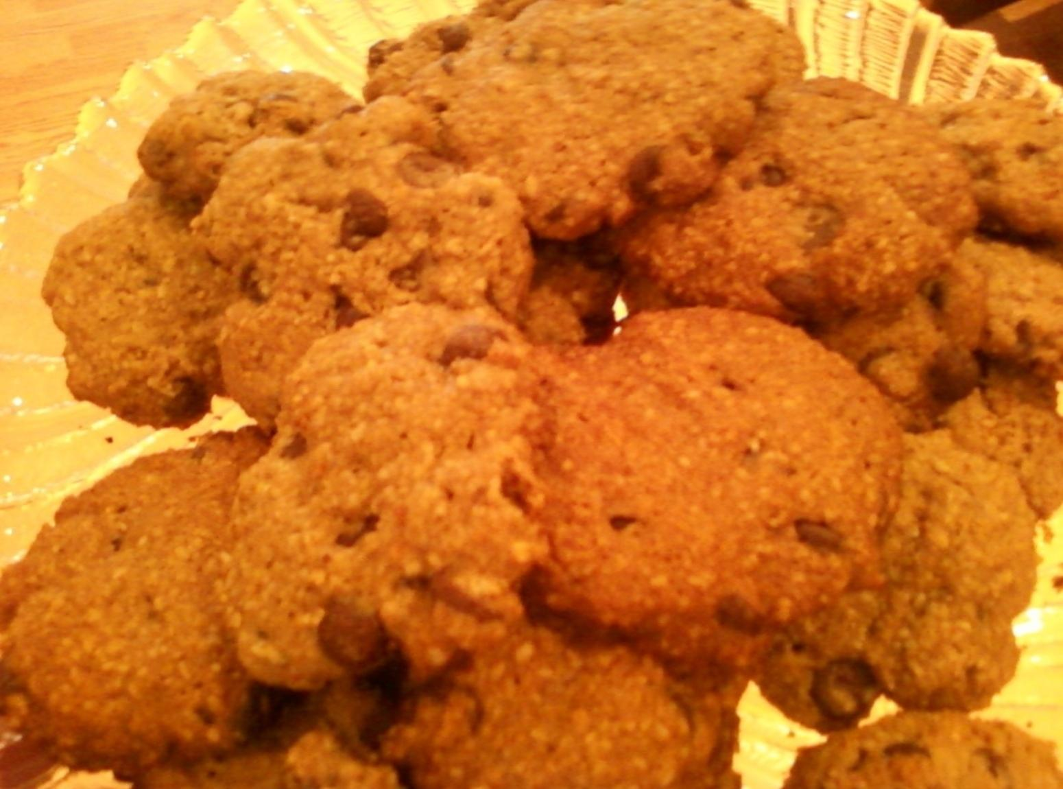 No Flour Chocolate Chip Oatmeal Cookies Recipe