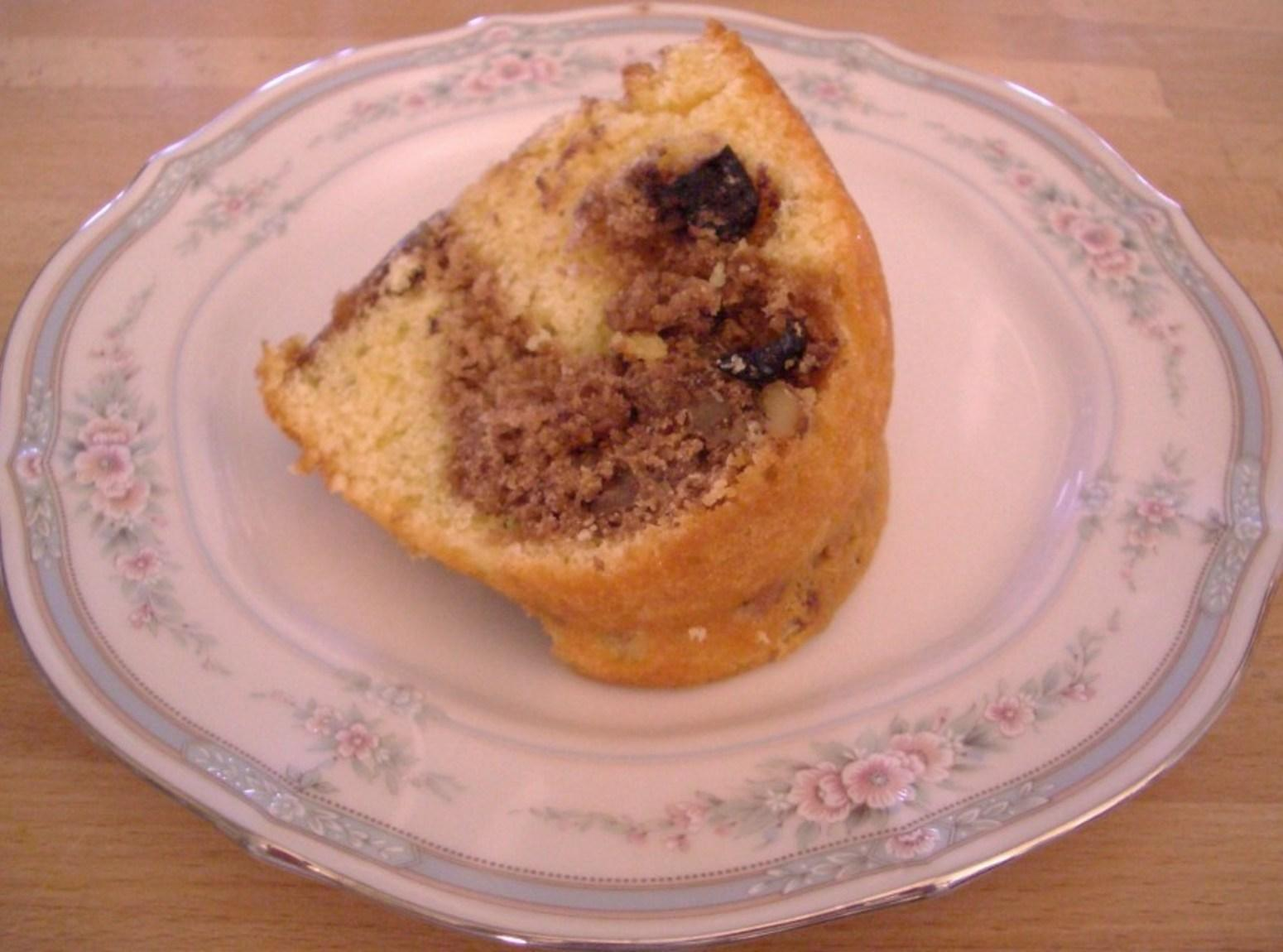 Blueberry Nuts Cake Recipe