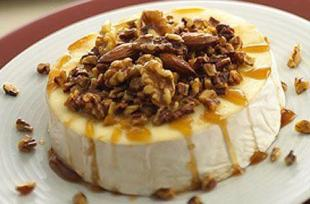 Baked Brie with Nuts Recipe