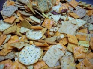 CRACKER PARTY MIX Recipe