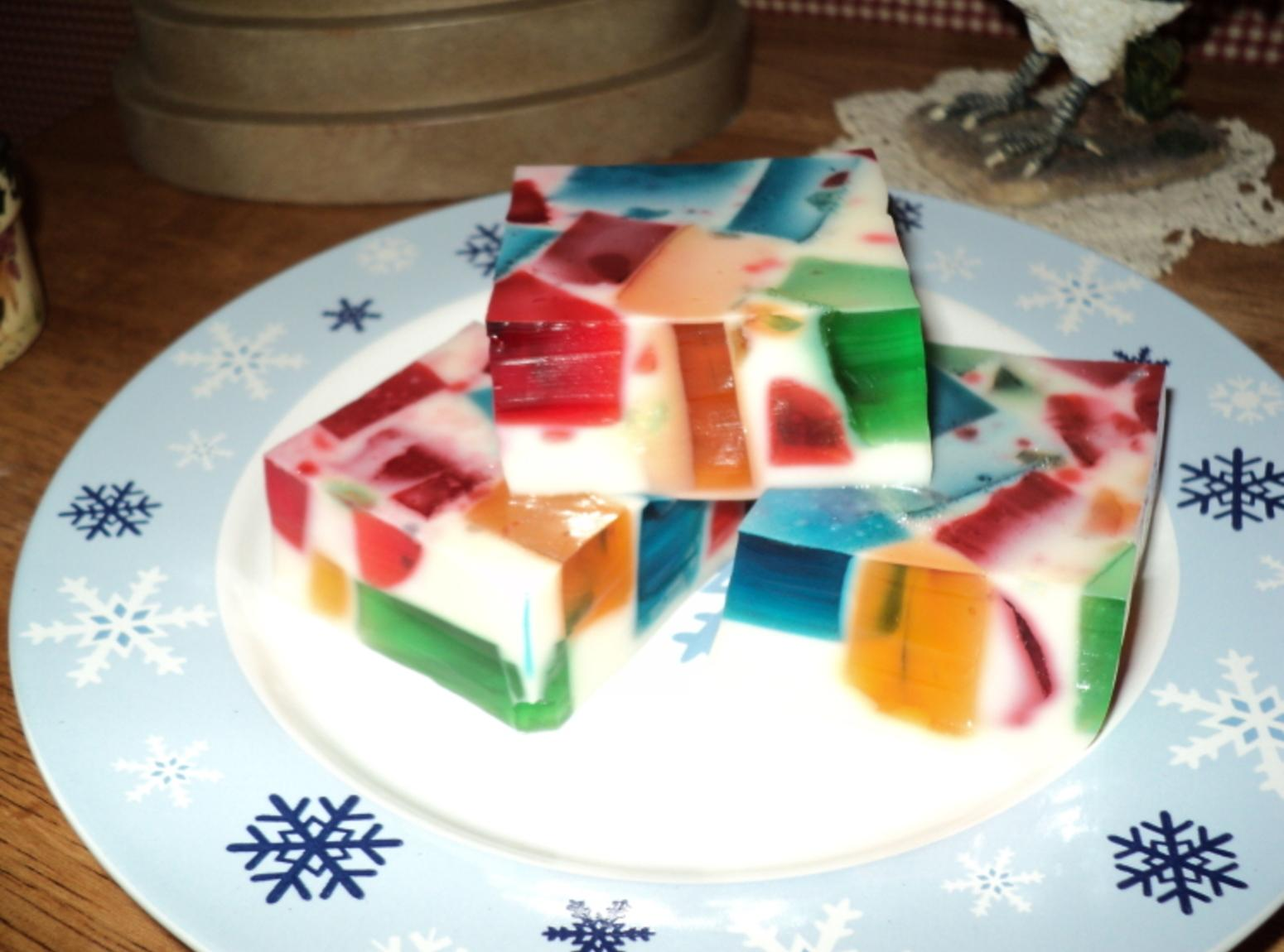 Cake Recipes With Gelatin: Party Glass Block Jello Recipe
