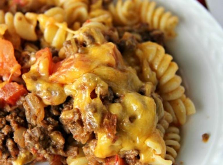 5-Star Cheeseburger Casserole Recipe