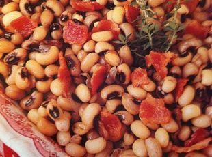 Black-Eyed Peas with Bacon