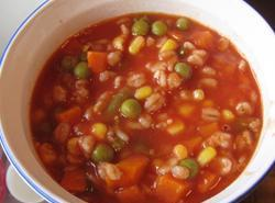 Colene's Easy Tomato Vegetable Soup Recipe | Just A Pinch ...