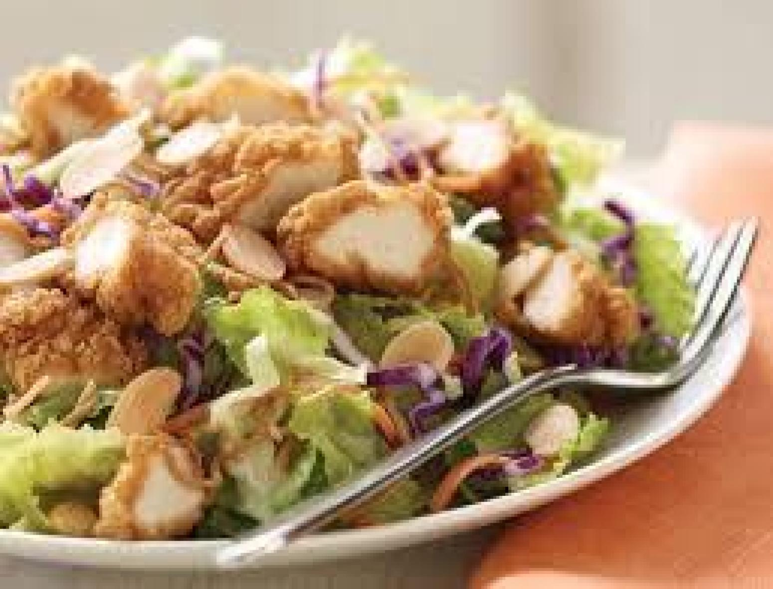 Incredible Asian Salad With Chicken Recipe | Just A Pinch Recipes
