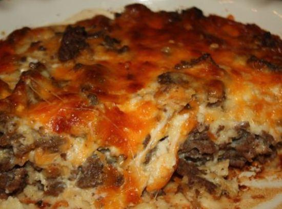Cheeseburger (in paradise) Pie Recipe