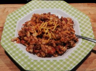 1950-AMERICAN CHOP SUEY  in a crockpot recipe.