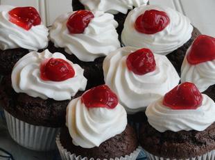 Black Forest Cupcakes Recipe