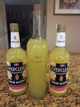 Limoncello that Packs a Punch! Recipe