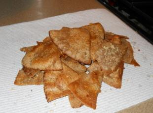 Seasoned Butter Pita Chips