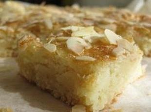 Cream Cheese (always raises to the top) Almond Bar Recipe