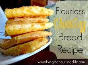 Flourless Cheesy Bread Recipe