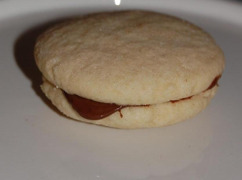 Hazelnut Sandwich Cookies Recipe | Just A Pinch Recipes