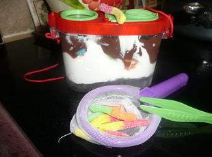 Bug Catcher Dirt Dessert Recipe