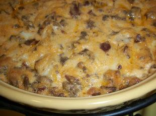 Double Bacon Cheeseburger Dip
