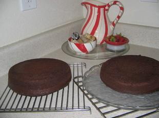 Chocolate  Cookies 'n Cream Ice Cream Cake Recipe