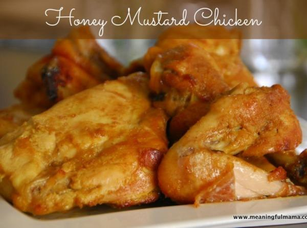 Easy Honey Mustard Chicken Recipe | Just A Pinch Recipes