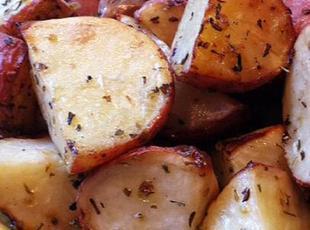 Lemon Oregano Roasted Potatoes