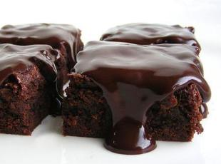 The Best Ever Chocolate/Cinnamon Sheet Cake