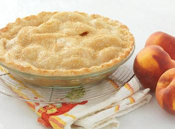 Ginger Peach Pie - Leigh Ann Fred Meyer Chef Recipe