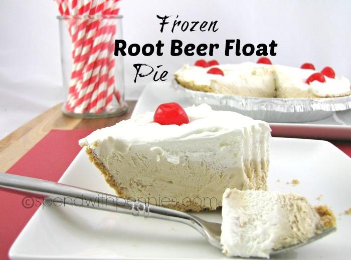 Frozen Root Beer Float Pie Recipe