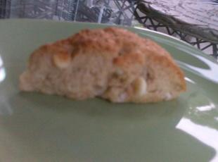 Pumpkin Spice Scones with White Chocolate Chips Recipe