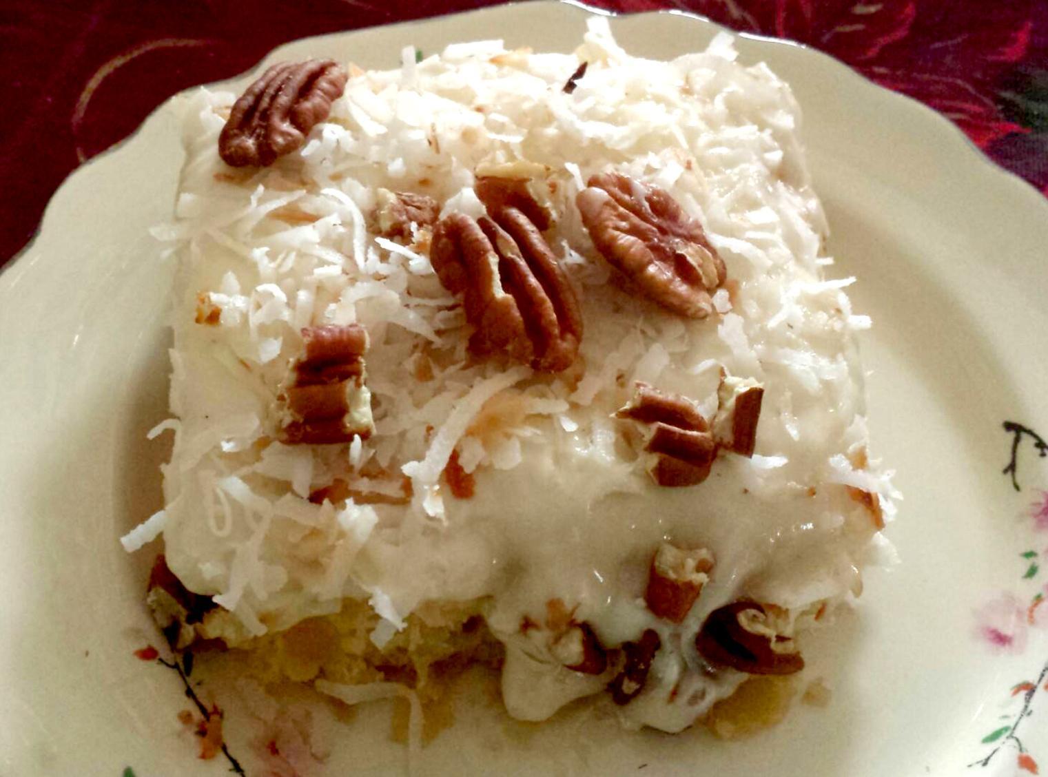 The Original  Easiest Pineapple Cake  Recipe