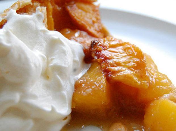 Blushing Peach Pie by: Sheila Lukins Recipe