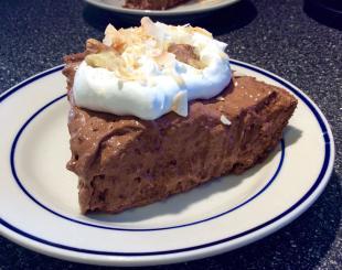 CHOCOLATE WALNUT COCONUT CREAM PIE Recipe