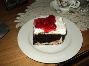 Black Forest Cream cheese Cake