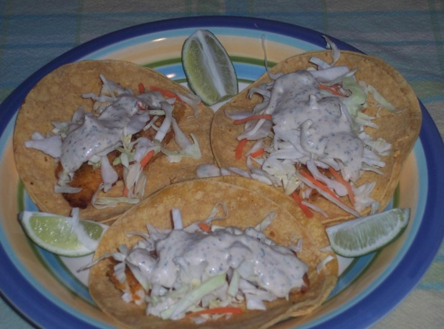 Fish taco sauce recipe just a pinch recipes for Fish taco sauce recipe