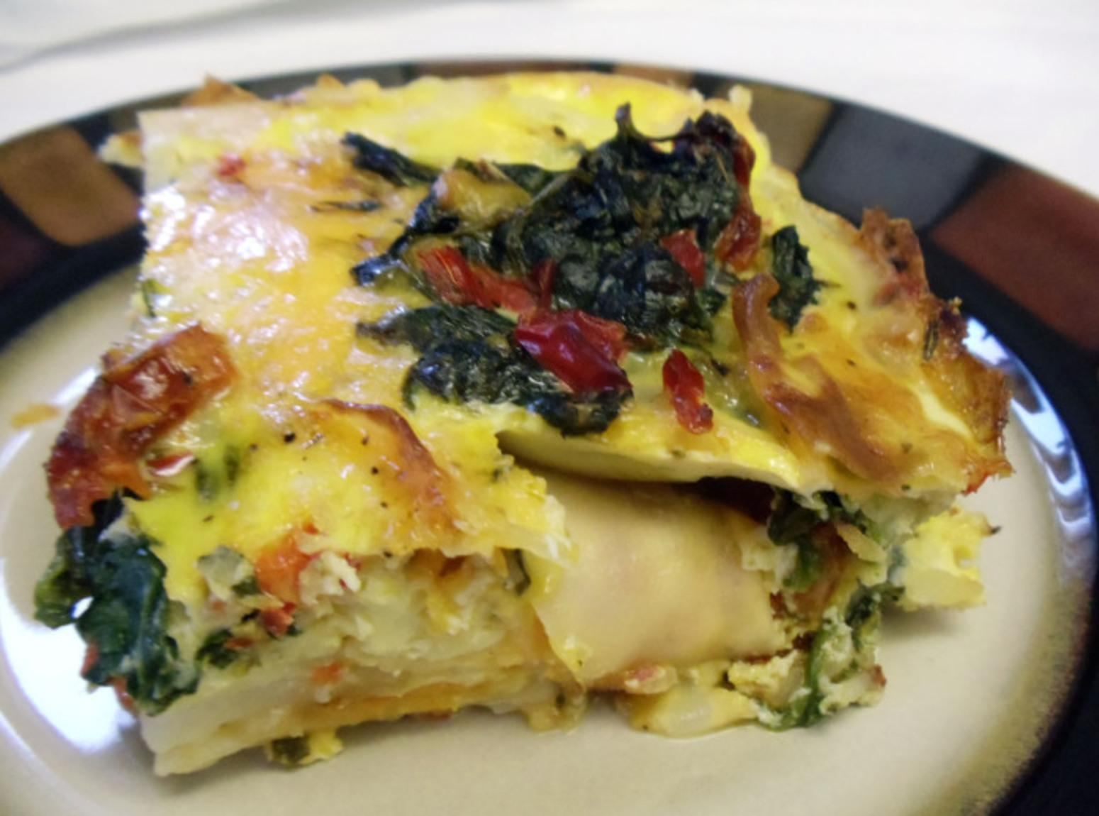 Frittata/Spanish Tortilla Recipe | Just A Pinch Recipes