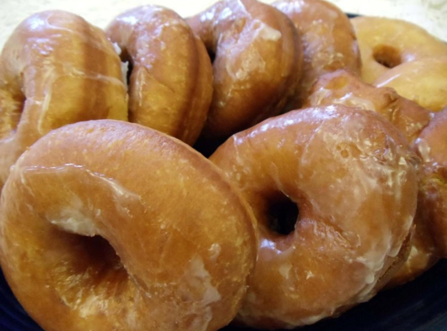 MOM'S RAISED DOUGHNUTS Recipe